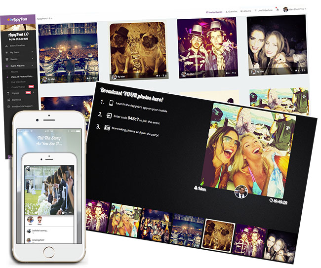 Collect all guest photos in your event app